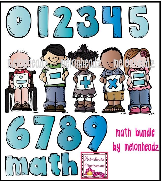 melonheadz math clipart #16