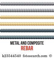Rebar Clip Art Illustrations. 75 rebar clipart EPS vector drawings.