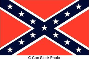 Rebel Flag Clipart.