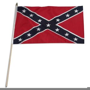 Free Rebel Flag Clipart.