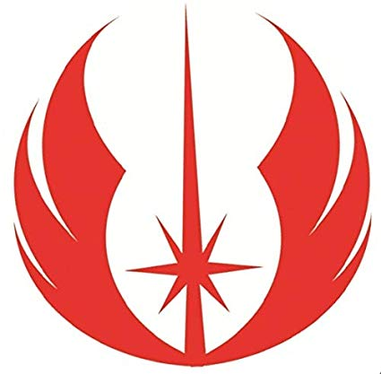 2 Inch Jedi Order Decal Rebel Alliance Starbird Phoenix Logo.