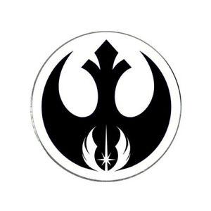 Details about Star Wars Rebel Jedi Logo Golf Ball Marker.