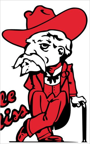 Rebel Mascot Clipart.