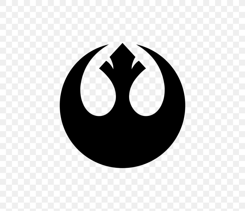 Rebel Alliance Star Wars Logo Jedi Decal, PNG, 570x708px.