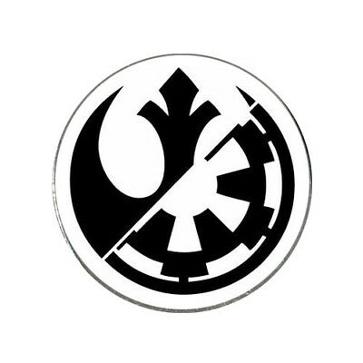 Star Wars Rebel Empire Combined Logo Golf Ball Marker.
