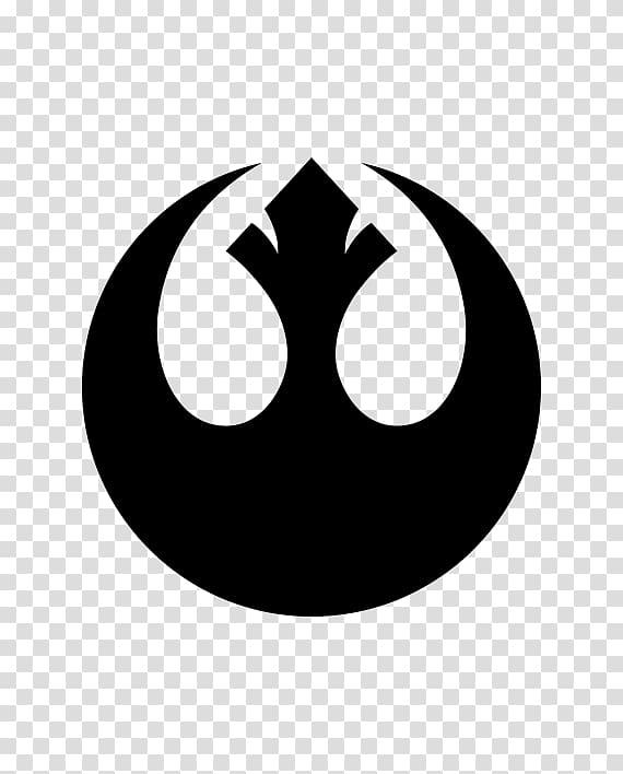 Rebel Alliance Star Wars Logo Jedi Decal, Star wars Rebel.