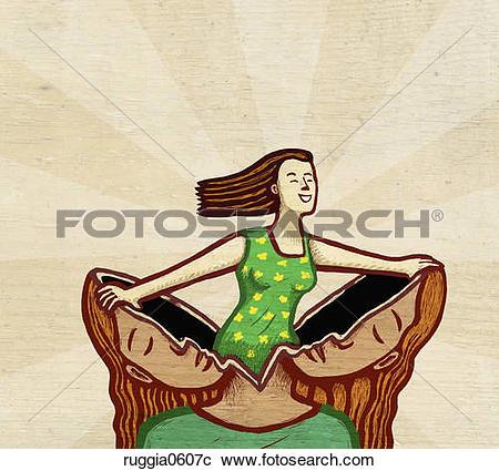 Stock Illustrations of Rebirth ruggia0605c.