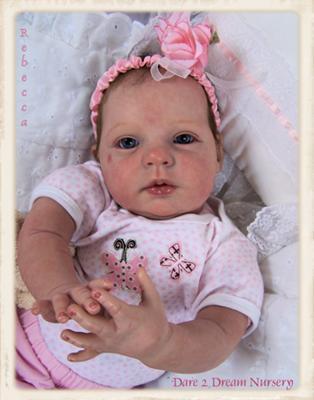 Reborn Baby Doll 080412» Vector Clip Art.