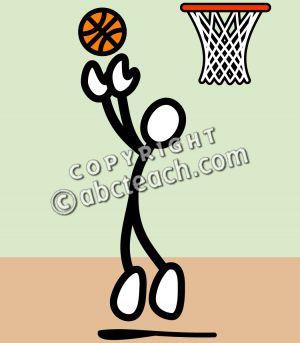 Rebound Clip Art.