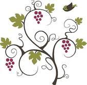 Grape Tree Clip Art.