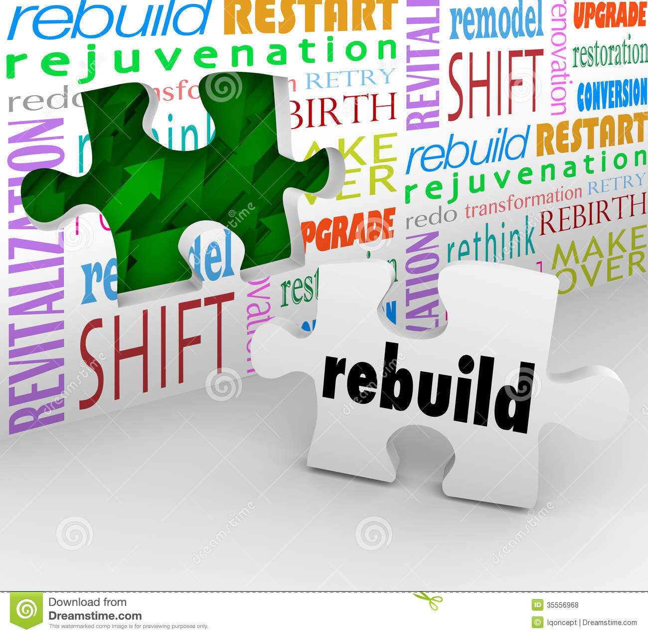 Rebuild clipart.