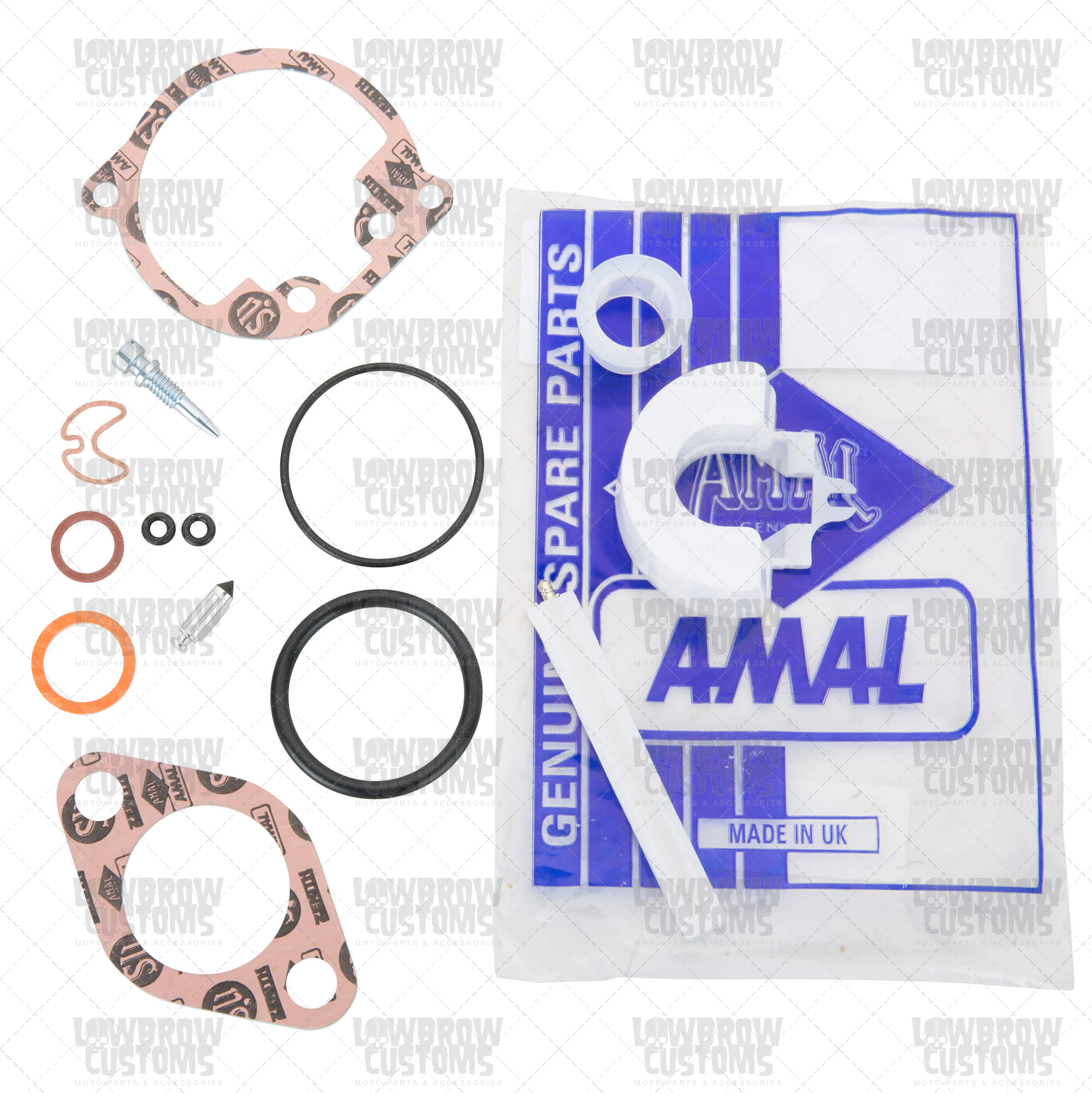Amal Carburetor Rebuild Kit for 600 and 900 series Concentric Carbs.