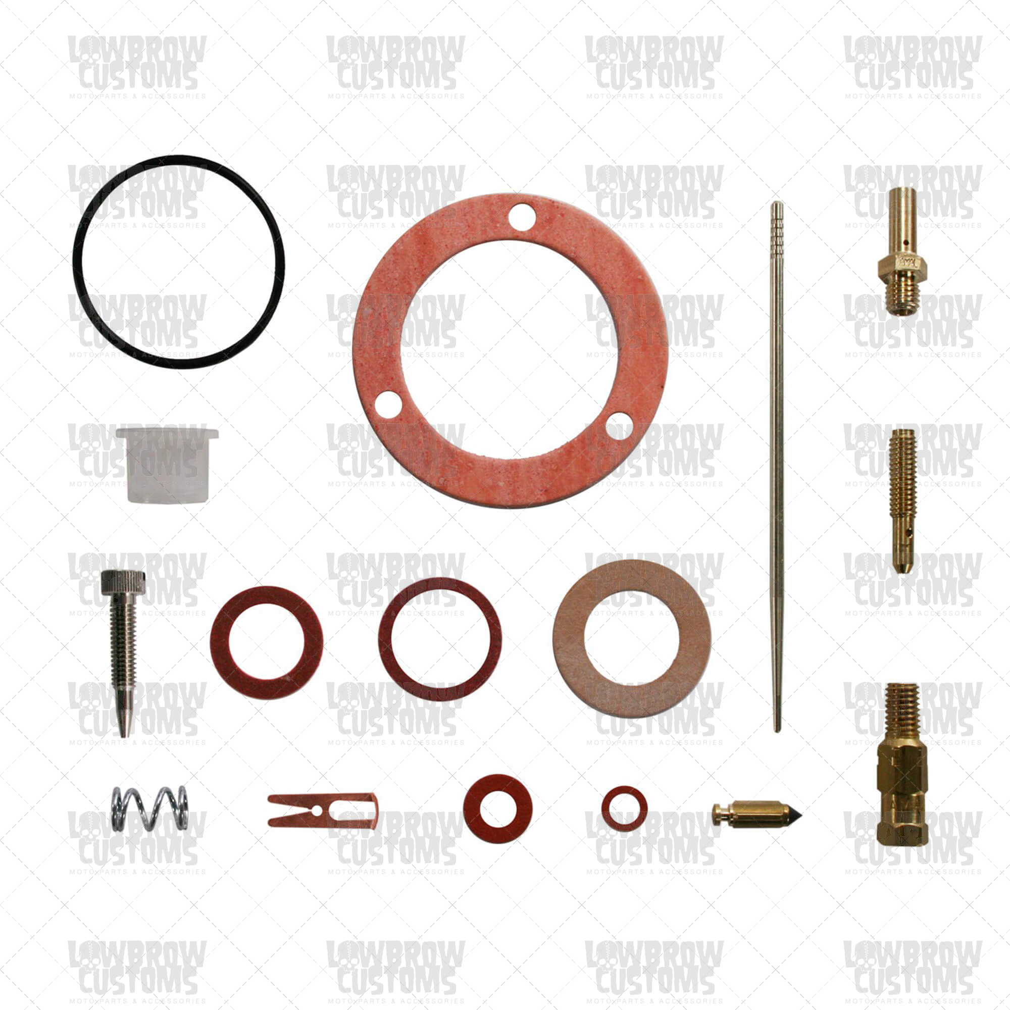 Amal Carburetor Rebuild Kit for 389 Monobloc Carb.