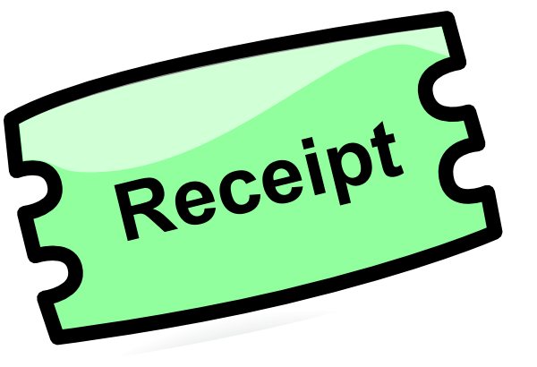 Receipt Clip Art at Clker.com.