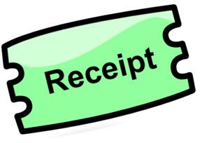Receipt Clip Art at Clker.com.