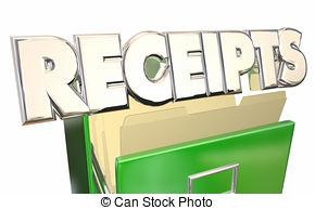 Receipts clipart.