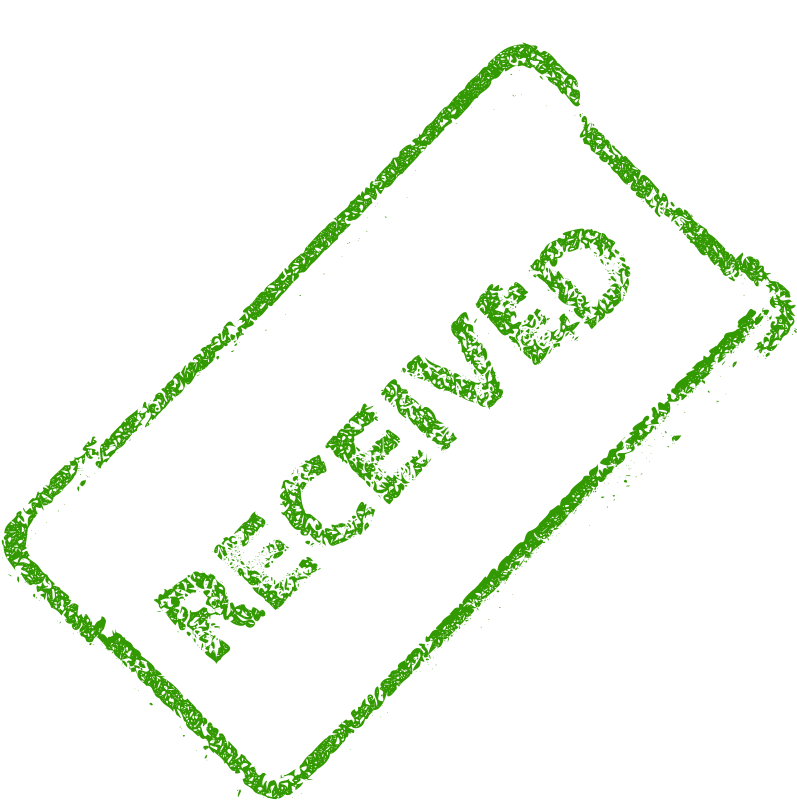 Free Clipart: Received Business Stamp 2.