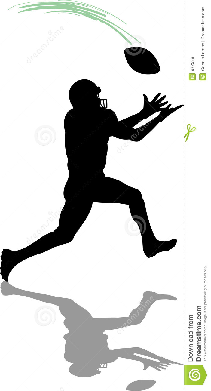 Wide Receiver Clip Art.