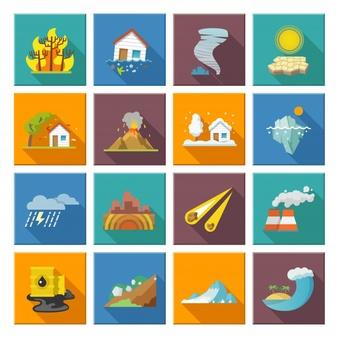 Natural Disaster Vectors, Photos and PSD files.