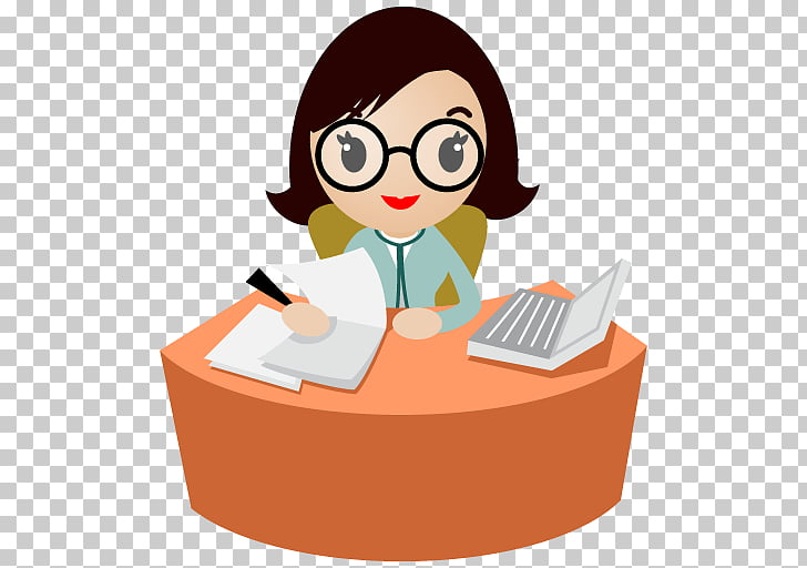 Clerk Receptionist , MS Secretary s PNG clipart.