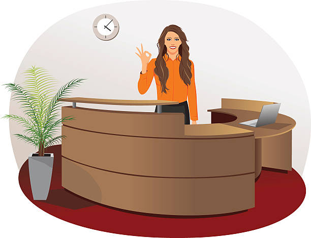 Receptionist clipart 4 » Clipart Station.