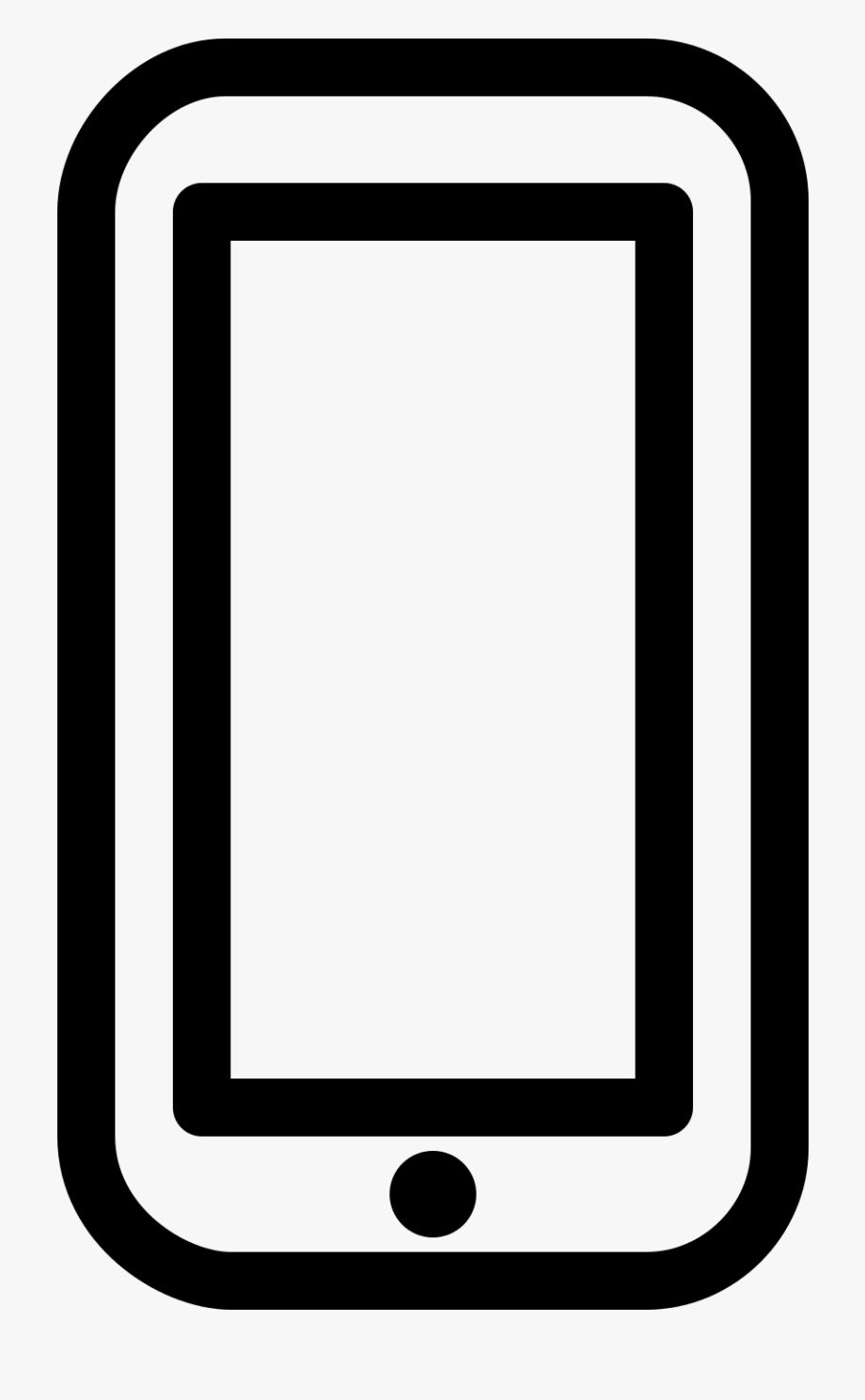 Iphone Clipart Svg.
