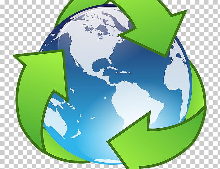 Símbolo de reciclaje reutilización minimización de residuos.