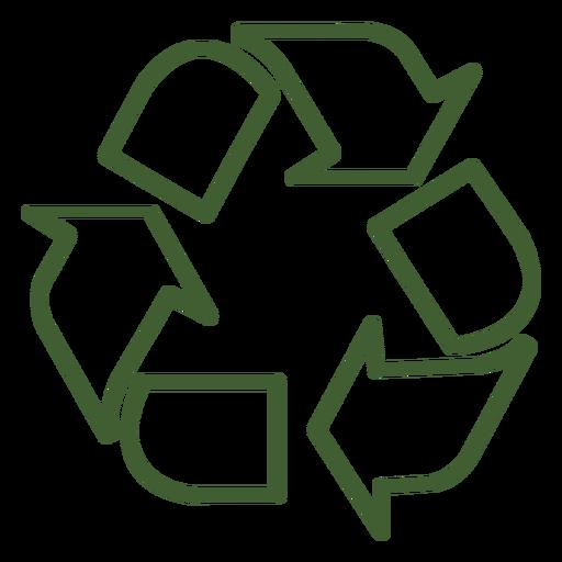 Icono de reciclaje.