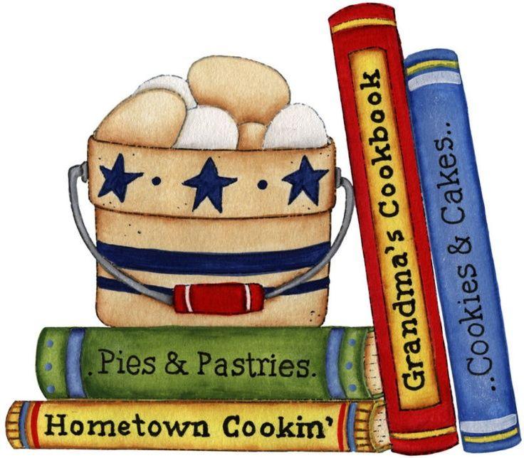 Clipart For Cookbook Cover : Recipe book clip art free clipground