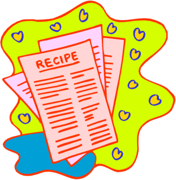 Clip Art and Easy Healthy Recipe.