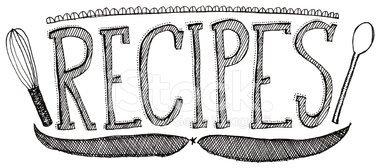 Recipes clipart black and white 2 » Clipart Portal.