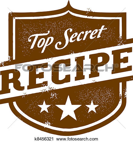 Clipart of Recipes Card k9543353.