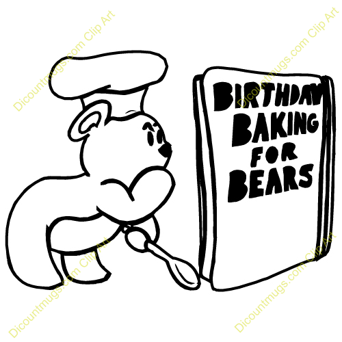 Cookbook Recipes Clipart.