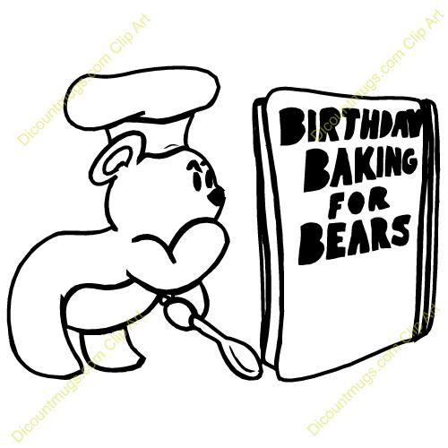 Cookbook Recipes Clipart.