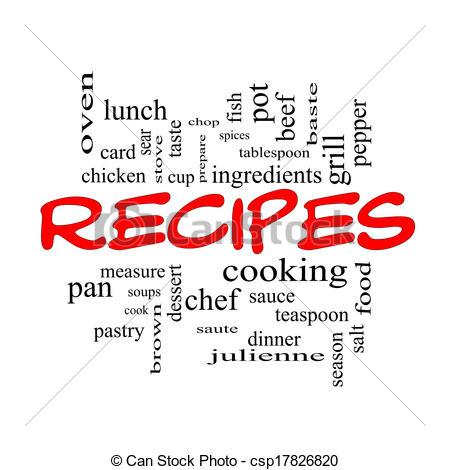 Recipes clipart free.