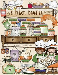 Recipes from our to your house clipart.