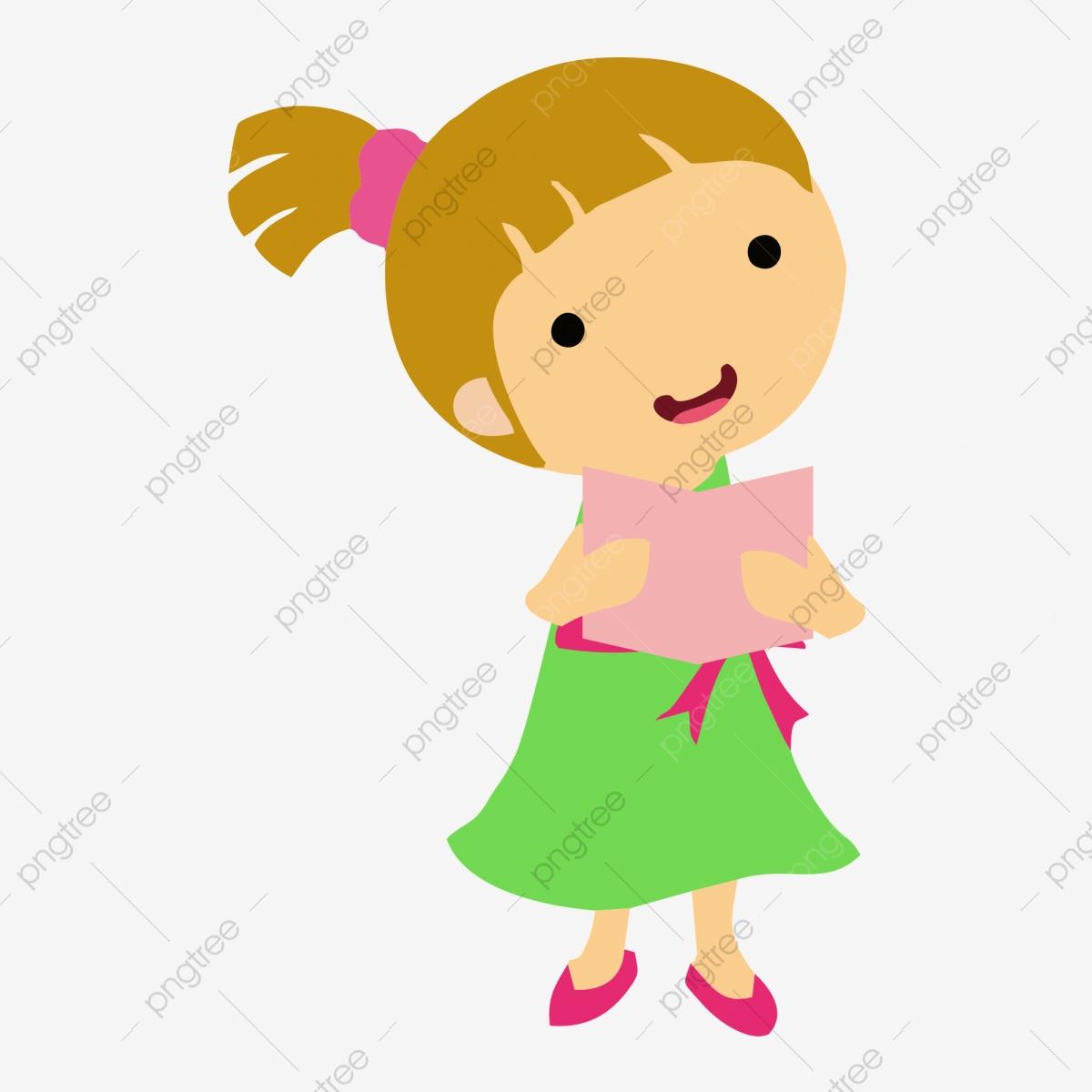 Cartoon Recital, Cartoon Clipart, Children, Music PNG.