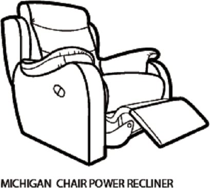 Parker Knoll Michigan Recliner Chair.