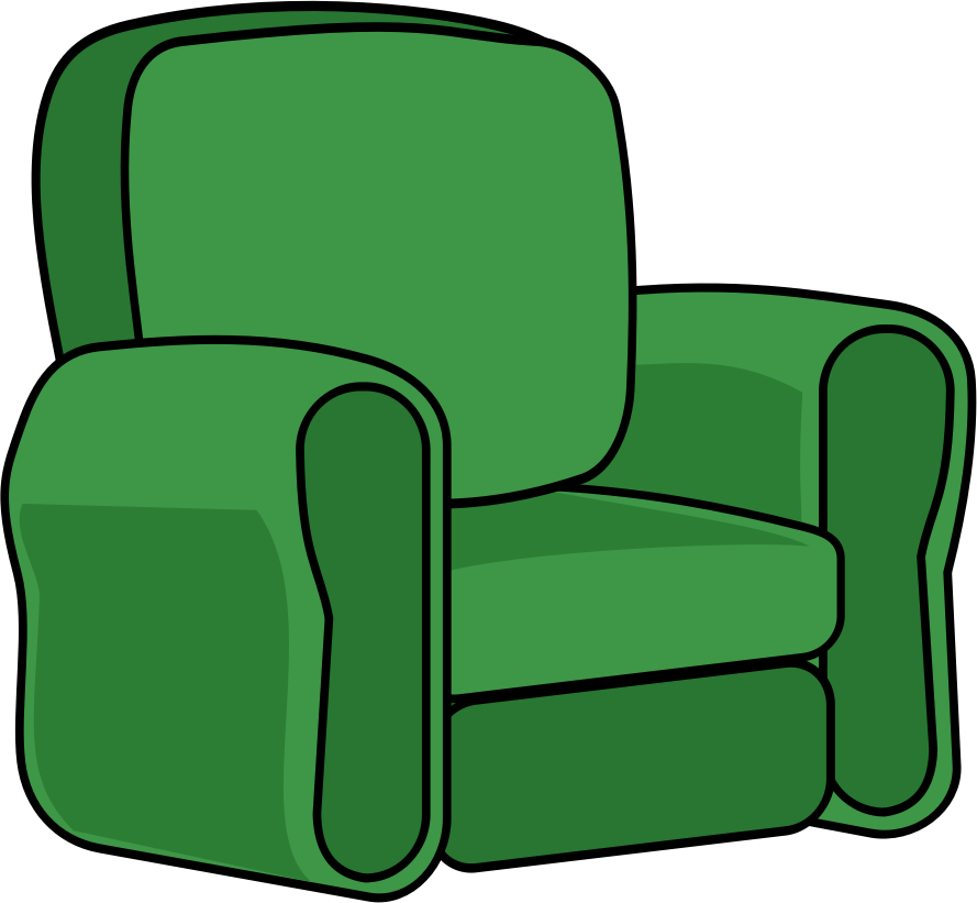 Recliner chair clipart clipart images gallery for free.