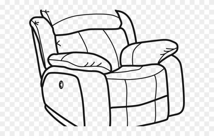 Furniture Clipart Recliner Chair.
