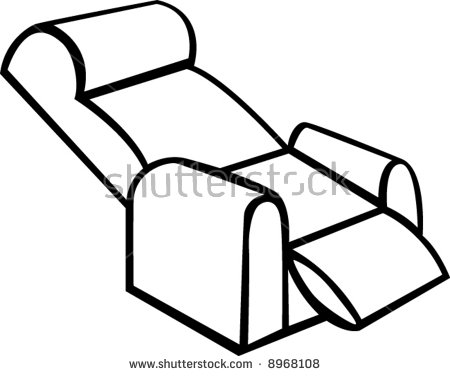 Leather Recliner Stock Photos, Royalty.