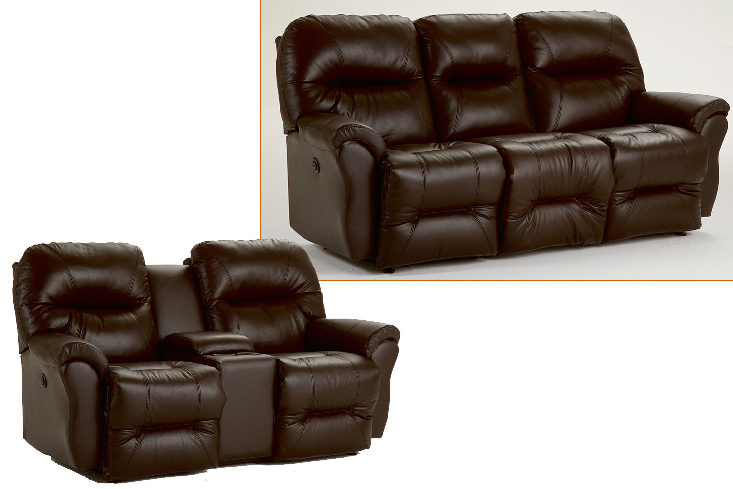 Leather Sofa Recliner.