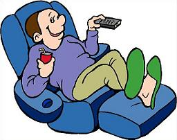 Free Recliner Clipart.