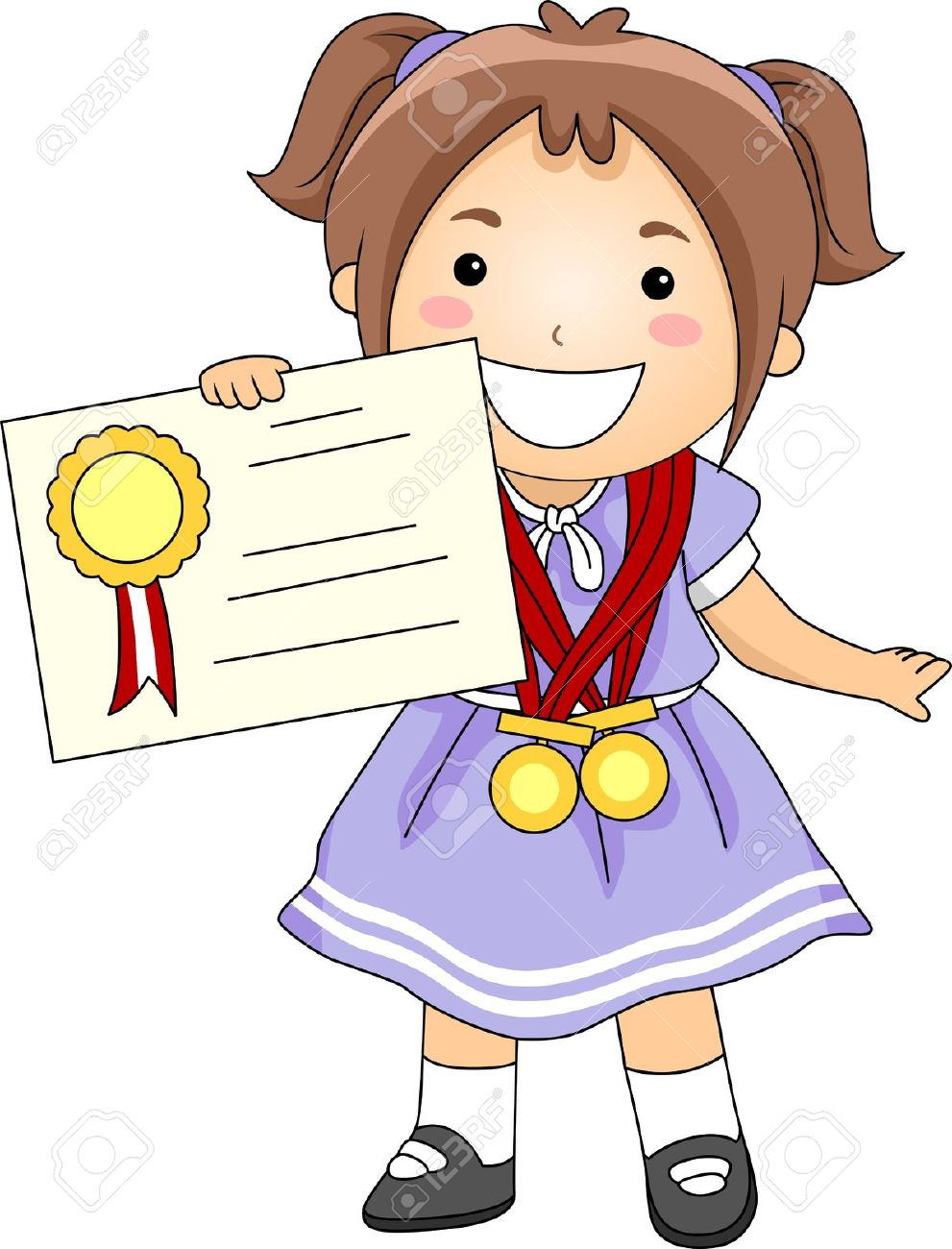 Student recognition clipart.