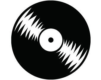 Record clipart black and white 2 » Clipart Station.