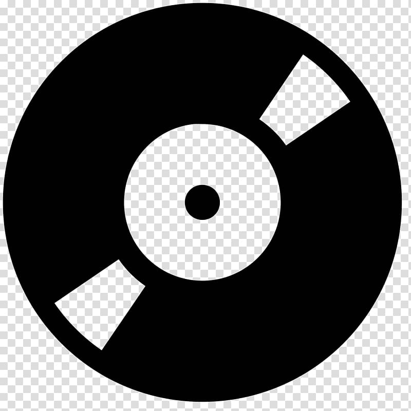 Musical note Phonograph record Disc jockey Computer Icons.
