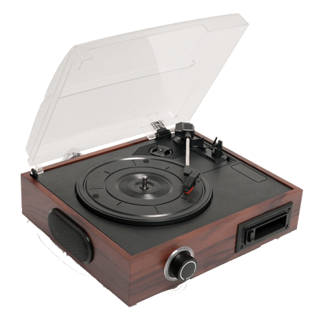 Portable record player png image.
