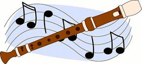 Free Recorder Clipart.