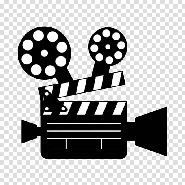 Black and white video recorder illustration, graphic film.