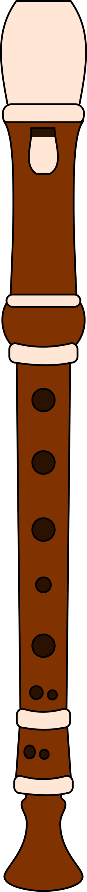 Recorder Image Clipart.